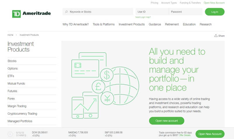 TD Ameritrade-off_site